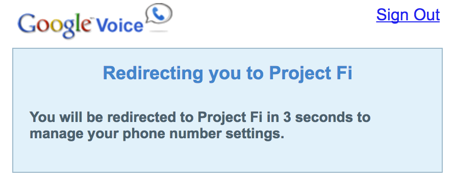 Can't even log into Google Voice if you use Project fi