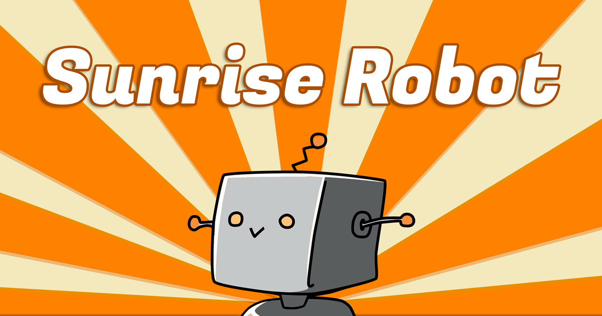H3LiOS, adorable robo-mascot for Sunrise Robot